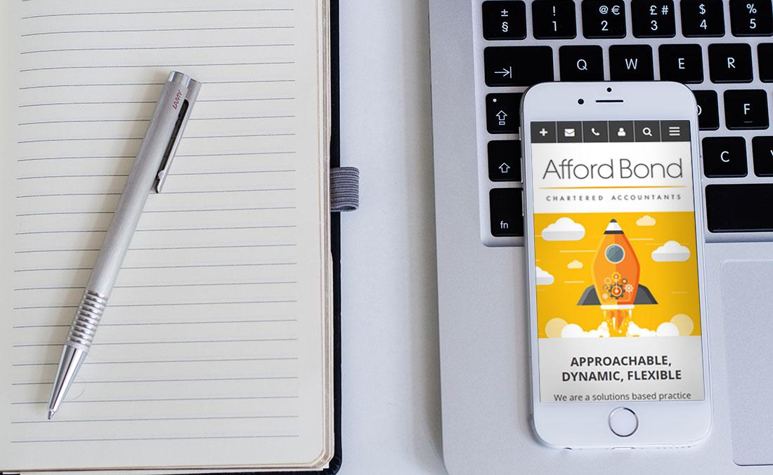 Afford Bond - Mobile design layout