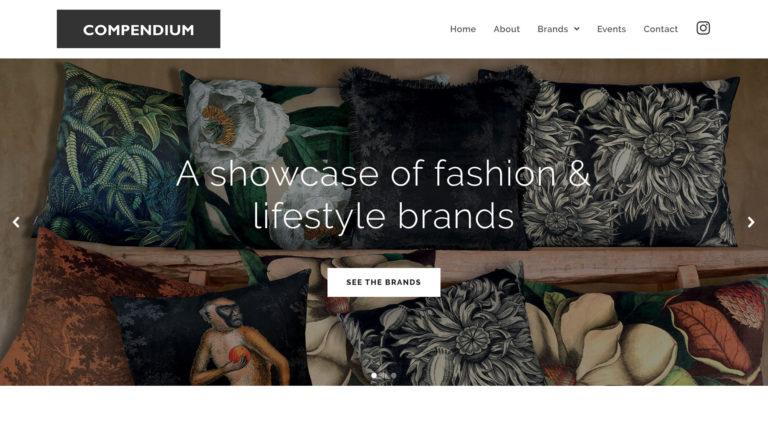Compendium website design & build