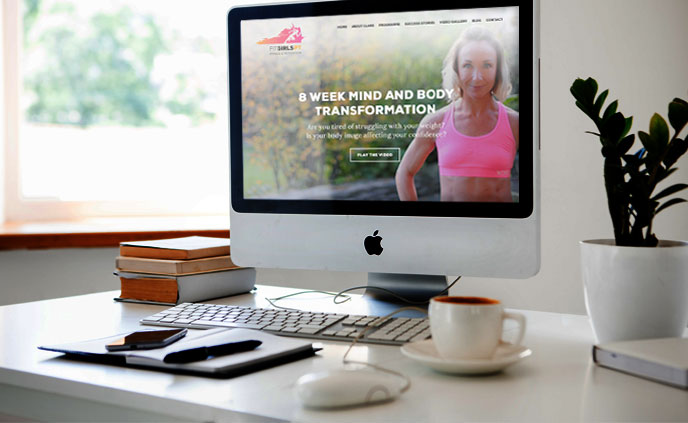 FitGirls PT Web design
