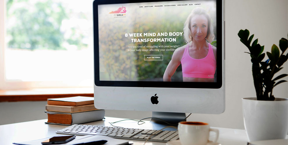 FitGirls PT Website Design