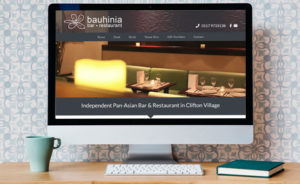 Bauhinia Website Design